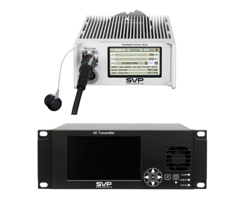 New 4K HEVC two box portable Transmitter encoding up to 12G with Ultra-low-latency